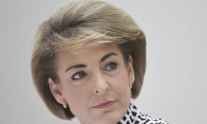 Australian employment minister Michaelia Cash at a Senate hearing.