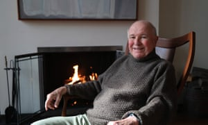 Terrence McNally at his home in New York. 'I write plays for actors and I need actors I can trust,' he said.