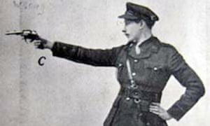 'He had a habit of letting off revolvers in any office he happened to visit'' … Major Hugh Bertie Campbell Pollard.