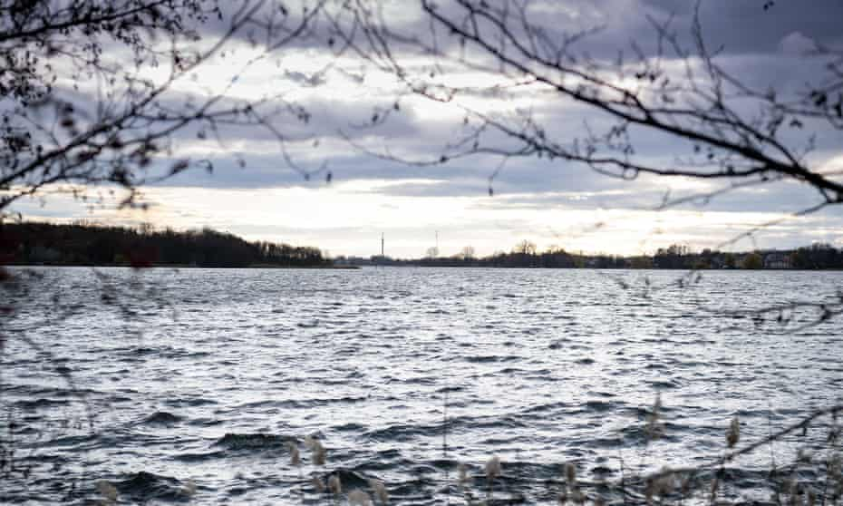 Ruppiner See in winter