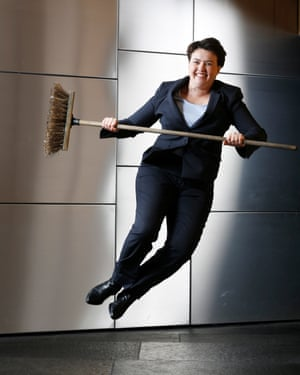 Leader of the Scottish Conservatives, MSP Ruth Davidson, photographed at the Scottish parliament at Holyrood in Edinburgh