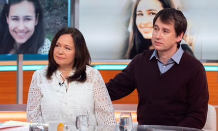 Tanya and Nadim Ednan-Laperouse on ITV's Good Morning Britain
