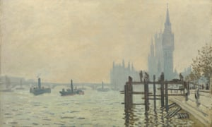 Claude Monet's The Thames Below Westminster.