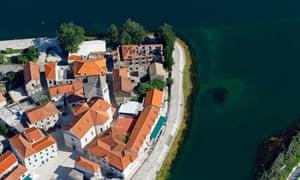 Opuzen in Neretva delta, Croatia.