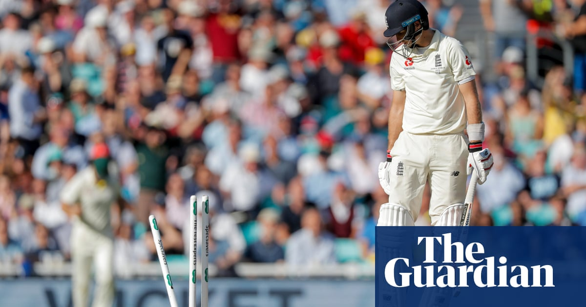 Heavy sits the crown of captaincy on Joe Root after ugly half-century | Barney Ronay