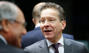 Eurogroup president and Dutch finance minister Jeroen Dijsselbloem