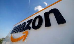 Amazon logistics centre in France