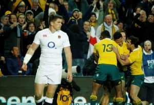 Folau, his team-mates and Wallabies fans are happy, England's Owen Farrell less so.