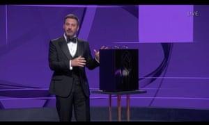 Jimmy Kimmel, the night's host.