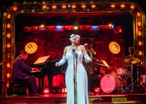 Audra McDonald in Lady Day at Emerson's Bar and Grill at Wyndham's theatre, London