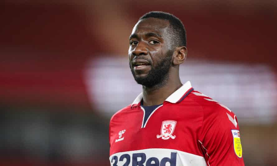 Yannick Bolasie, pictured during Middlesbrough's game against Preston on Tuesday.