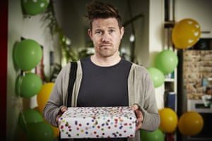 Eddie Perfect as Eddie in The Future is Expensive