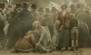 A scene from Peterloo, Mike Leigh's 2018 film.