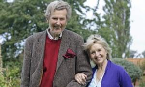'I've kept my feet on the ground' … Cobham with his wife Liza Goddard.