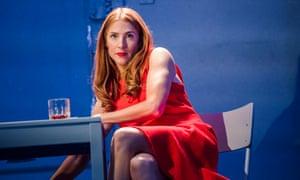 Rosalie Craig as Bobbie in Stephen Sondheim's Company at the Gielgud theatre, London.