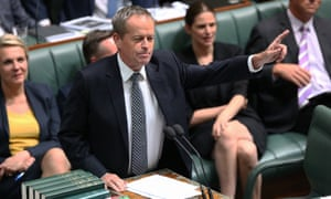 Bill Shorten in question time