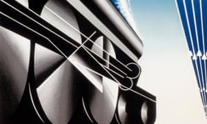 Art deco elegance … detail from a 1927 Wagons-Lits poster. Photograph: Alamy