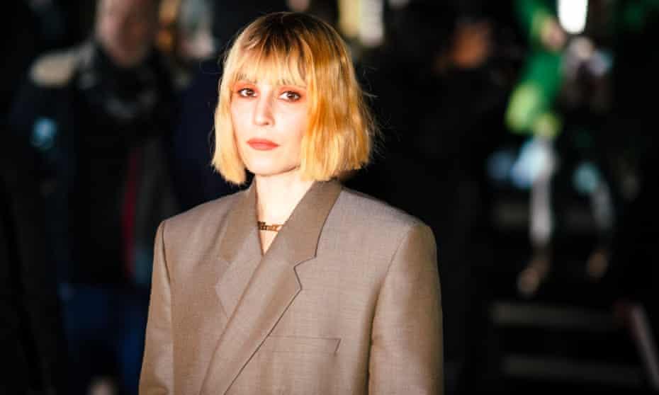 Actress Noomi Rapace at Paris Fashion Week