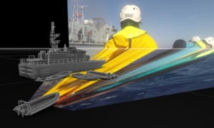 A reconstruction of an incident involving Mediterranean search and rescue operations on 6 November 2017, by Forensic Architecture.
