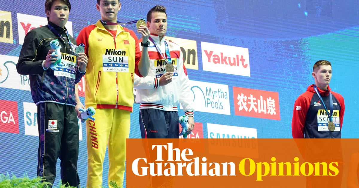 The worrying friendship between swimming chiefs and Sun Yang | Andy Bull