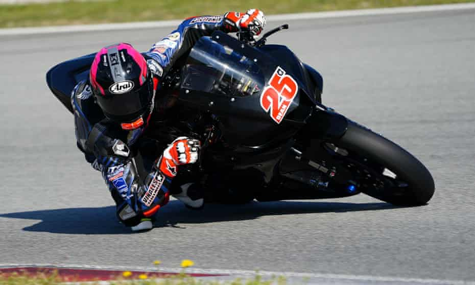 Dean Berta Viñales on his bike