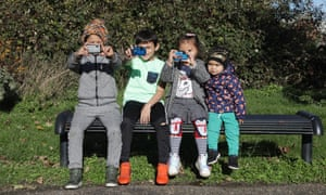 Four Roma children – Nikolas Macko, Jurej Nacko, Sophia Slepcikova and her brother Dusan Slepcik – were among those who photographed the park in Eastwood, Rotherham, to suggest improvements.