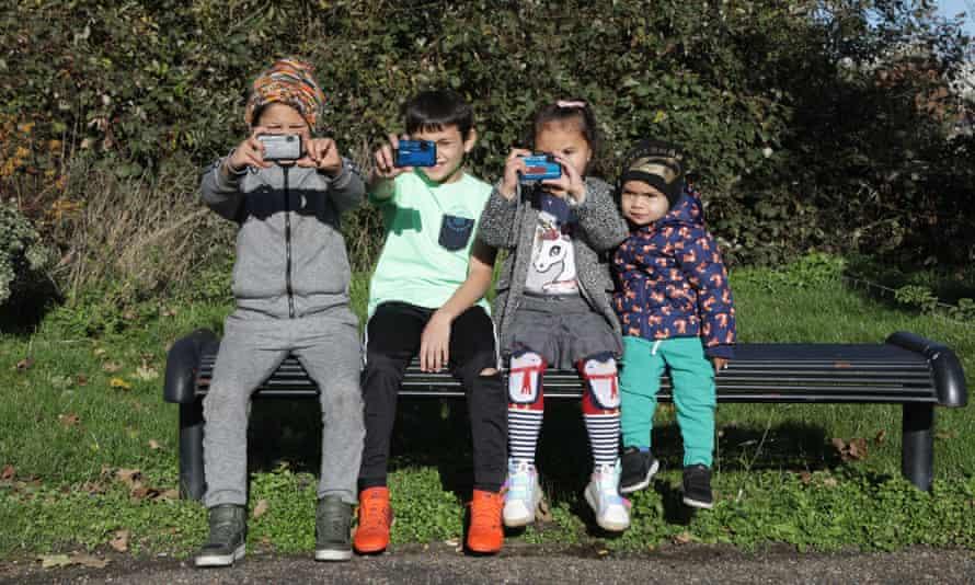 Four Roma children – Nikolas Macko, Jurej Nacko, Sophia Slepcikova and her brother Dusan Slepcik – were among those who photographed the park in Eastwood, Rotherham, to suggest improvements.