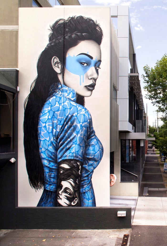 The Faces Of Fitzroy In Pictures Art And Design The Guardian Wall Art