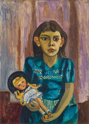 Julie and the doll, 1943 by  Alice Neel