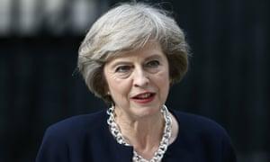 Britain's Theresa May.