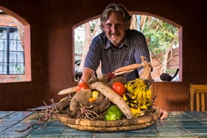 Kristof Nordin in Lilongwe, Malawi, co-founder of Never Ending Food, which teaches local farmers about diversifying their crops