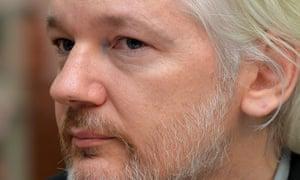 Julian Assange took refuge at the Ecuadorian embassy in London in June 2012.