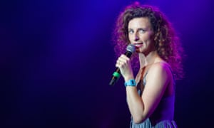 Felicity Ward performs Busting a Nut at an Edinburgh fringe opening gala earlier this month.