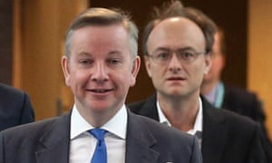 Gove and Cummings in 2012.