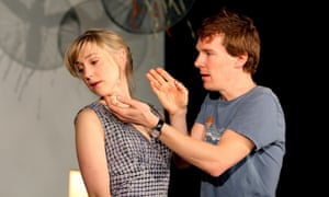 Hattie Morahan and Benedict Cumberbatch in The City directed by Katie Mitchell