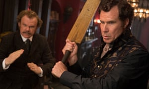 John C Reilly and Will Ferrell in Holmes & Watson.