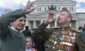 Russians celebrate victory day in 2001, 15 years on many of the same cliches about the country still exist.