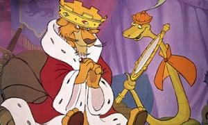 Prince John in Robin Hood.