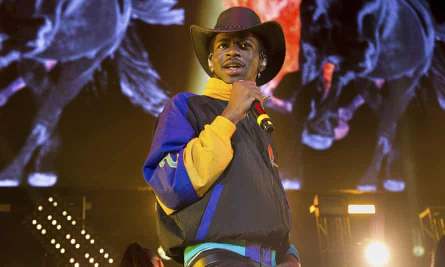 Lil Nas X thanked his fans for helping his song set a new record.