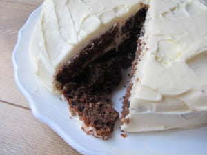 Cook's Country's red velvet cake.