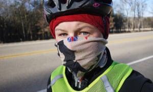 Cycling in minus 15c in Arkansas