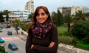 Spanish journalist and activist Helena Maleno in Tangier, north-western Morocco.