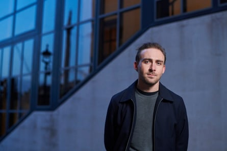 Pat Martin, winner of the NPG Taylor Wessing Photographic Portrait prize, photographed outside the National Portrait Gallery.