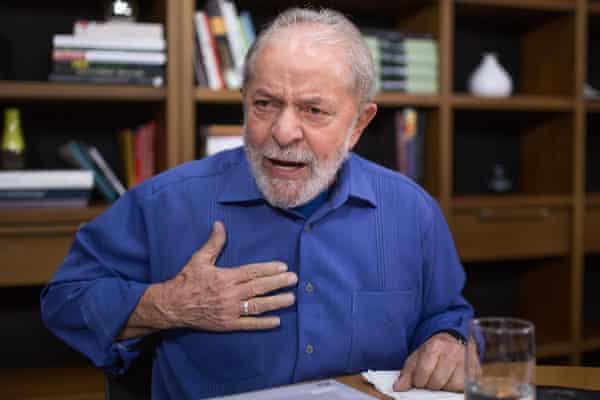 """""""I regret that Brazil is becoming a country where spreading hate is becoming part of people's daily lives,"""" Lula said."""