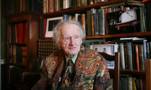 George Whitman, proprietor of the Shakespeare and Company bookshop, Paris, in 2009.