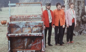 The Beatles. in Knole Park, Sevenoaks filming Strawberry Fields 1967