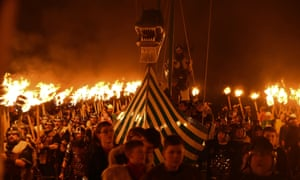 Up Helly Aa festival, Shetland Islands