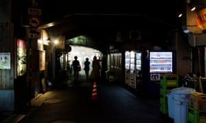 Real Tokyo: bars under the bridge in Shinbashi.