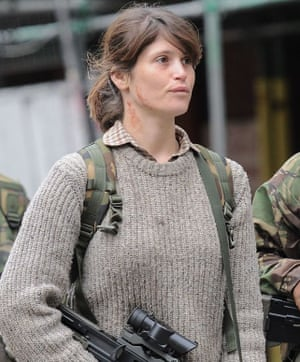 Gemma Arterton in The Girl with All the Gifts.
