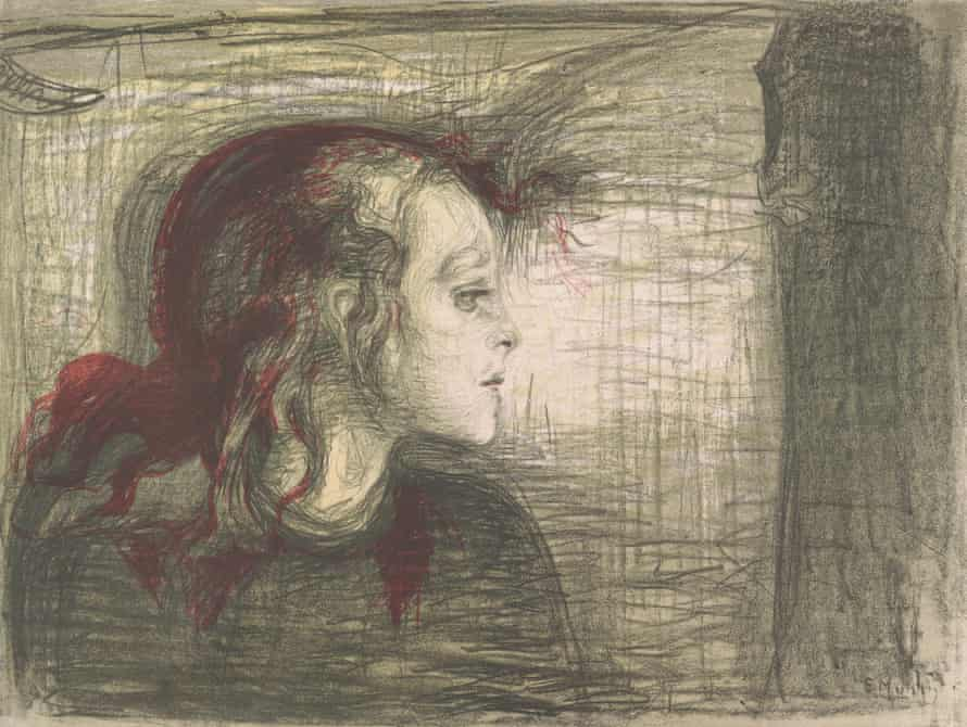 The Sick Child,1896 by Edvard Munch.